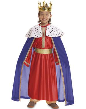 Costum de Rege Mag roșu pentru băiat