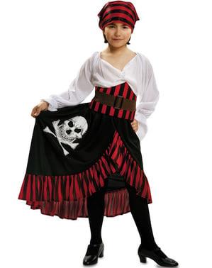 Kostum Bajak Laut Tengkorak Gadis