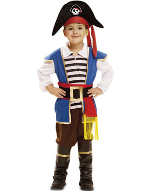 Piraat kostuum Jake van de zee voor jongens