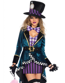Womenu0027s Plus Size Hatter Costume ...  sc 1 st  Funidelia : plus size shrek costume  - Germanpascual.Com