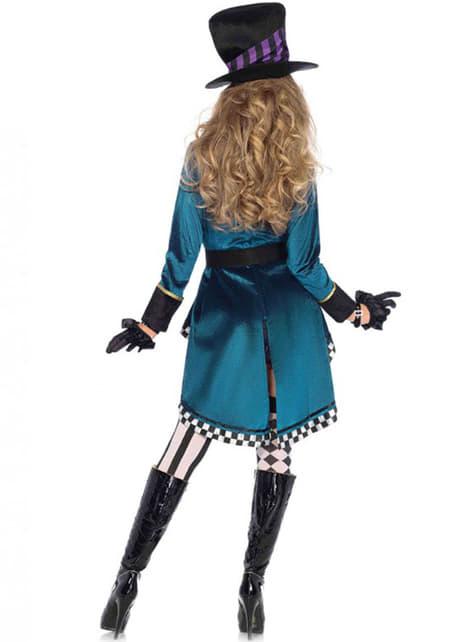 Kostium kobieta-kapelusznik duży rozmiar damski