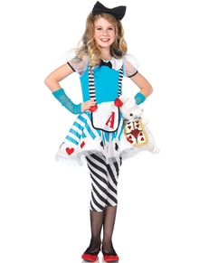 Girl's Wonderful Alice Costume
