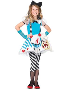 Costum Alice minunată pentru fată