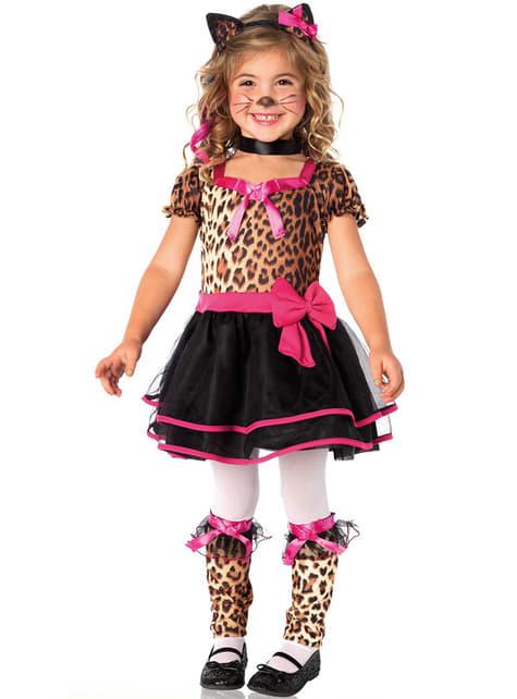 Disfraz de leopardo elegante para niña