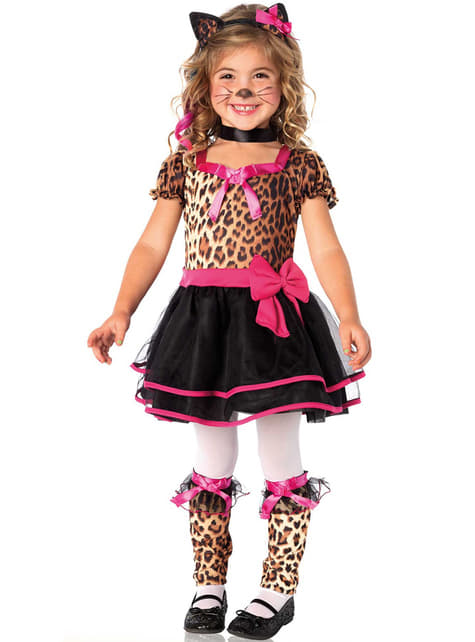 Girl's Cute Leopard Costume