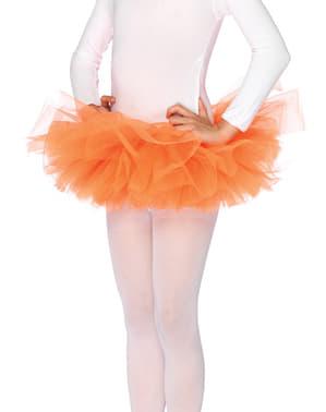 Tyttöjen Oranssi Tutu