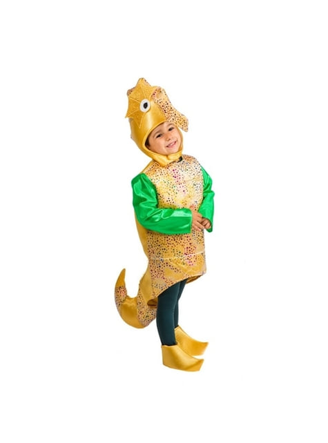 Little Sea Horse Boy Kids Costume