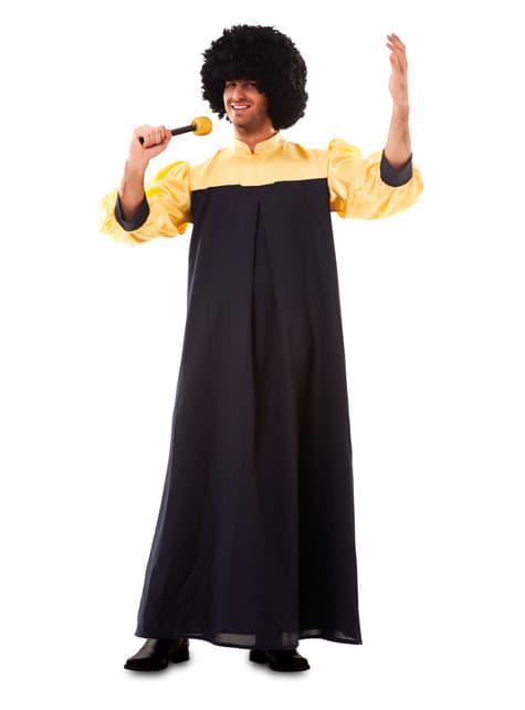 Felnőtt Gospel Singer Costume