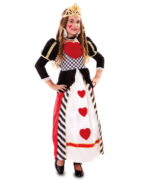 Girl's Queen of Hearts Costume
