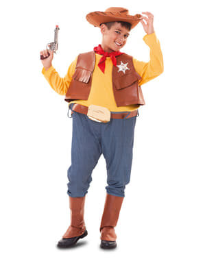 Chubby Cowboy Costume for Boys