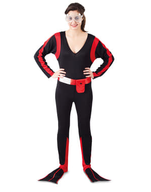 Fato de mergulhadora para mulher