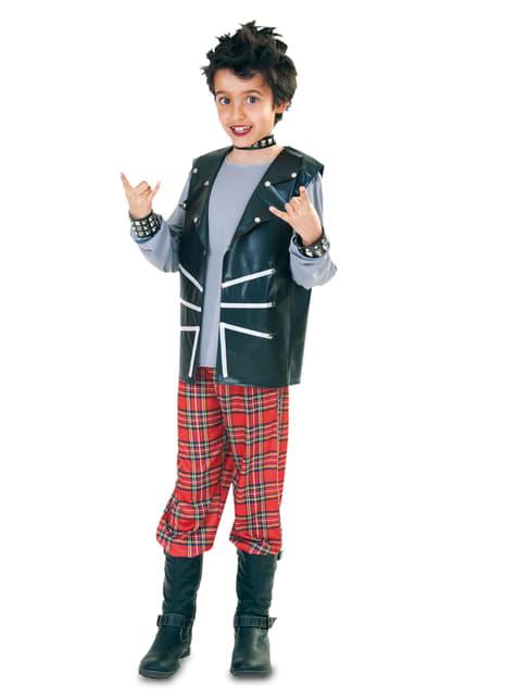 Chlapecký kostým moderní pankáč