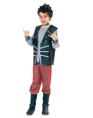 Disfraz de Punk moderno para niño