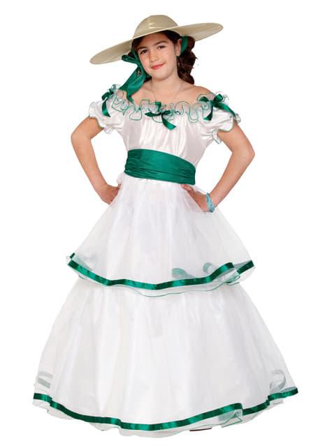 התלבושת הדרומית של הנערה