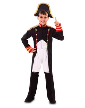 Fato de Napoleão o conquistador para menino