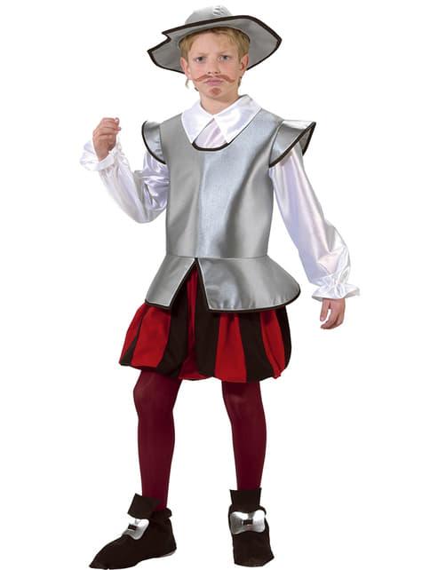 Fato de cavaleiro Dom Quixote para menino