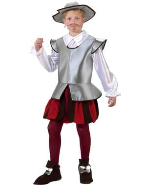 Costume da cavaliere Don Chisciotte da bambino