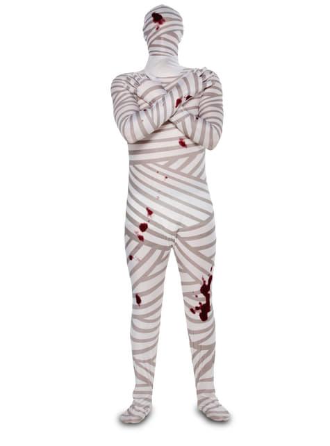 Disfraz de momia ensangrentada para adulto