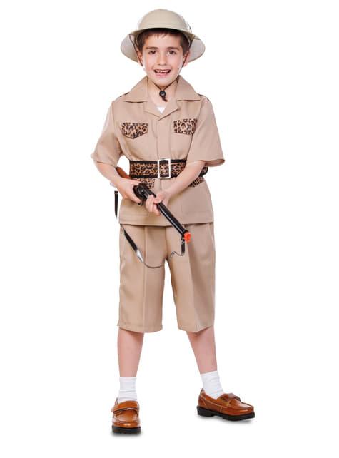 Chlapecký kostým safari průzkumník