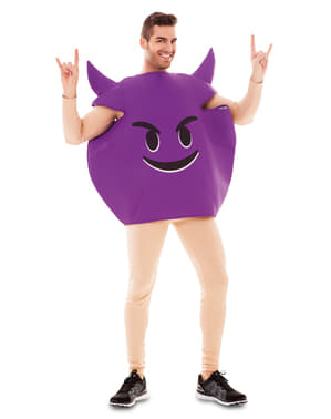 Adults Naughty Emoticon Costume