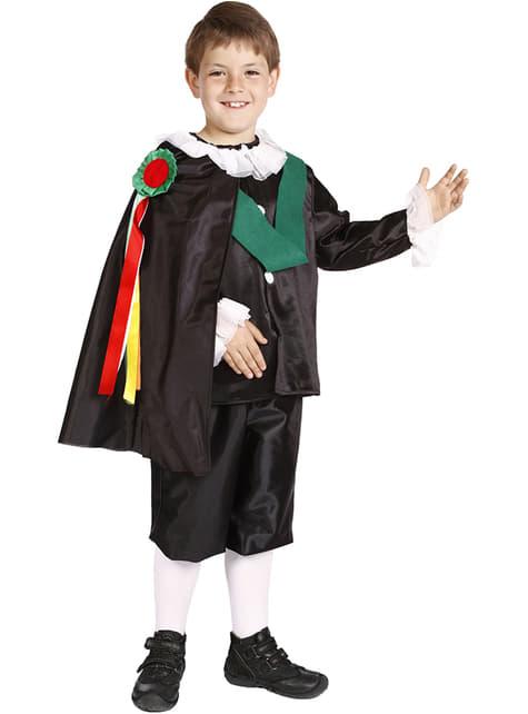 Court Singer Child Costume