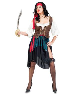 Disfraz de corsaria sugerente para mujer