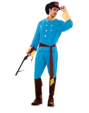 Konföderierten Kostüm für Herren