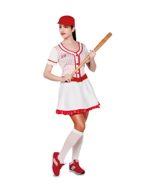 Profesjonell Basketballspiller Kostyme for Dame