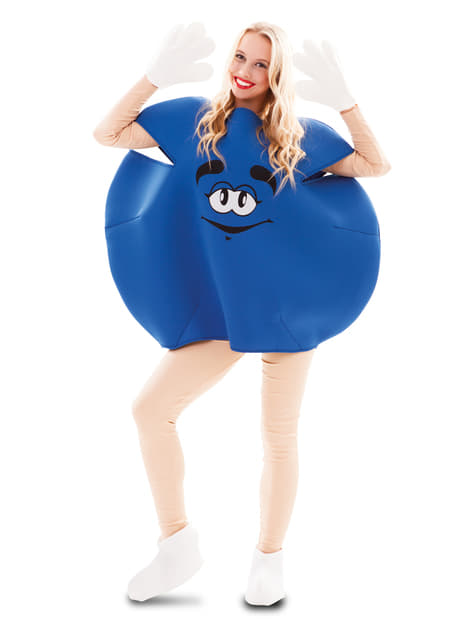 Adults Blue Candy Costume