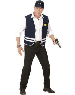 Set Maskeraddräkt FBI för vuxen