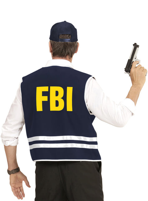 Kit disfraz de FBI para adulto