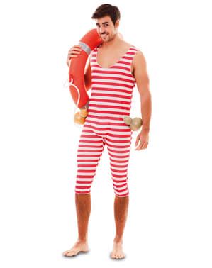 Disfraz de bañista años 20 para hombre