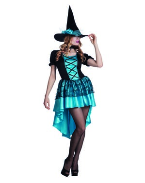 Heks kostuum van de duisternis voor vrouw