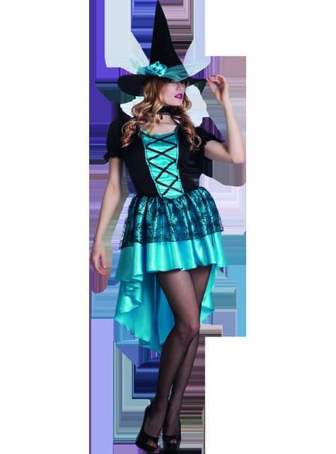 Disfraz de bruja de las tinieblas para mujer - mujer