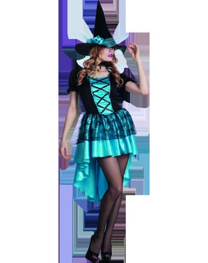 Womens Gloomy Witch costume