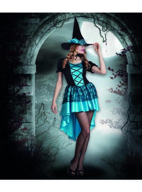 Disfraz de bruja de las tinieblas para mujer - traje