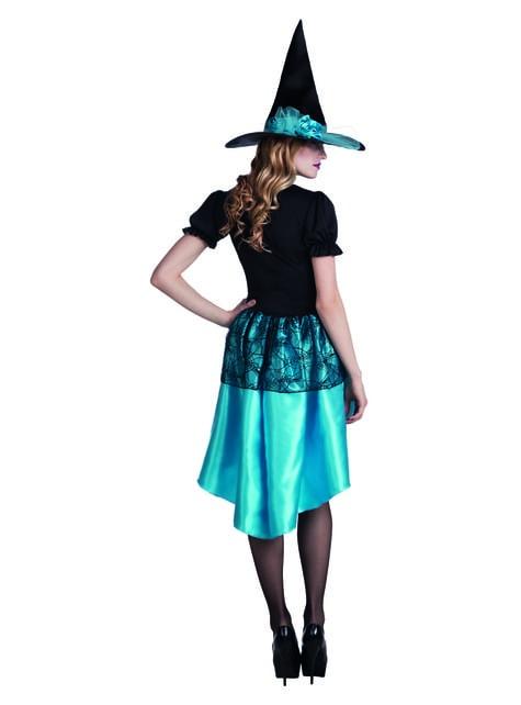 Disfraz de bruja de las tinieblas para mujer - Halloween