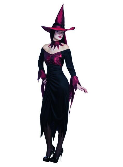 Disfraz de bruja tenebrosa para mujer