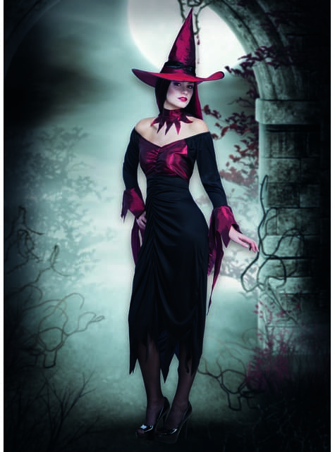 Disfraz de bruja tenebrosa para mujer - mujer