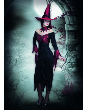 Womens Evil Witch Costume