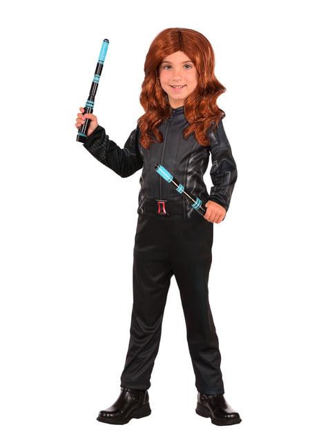 Disfraz de Viuda Negra Capitán América Civil War classic para niña