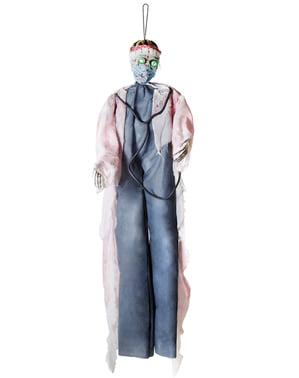Лікар небезпека висить малюнок