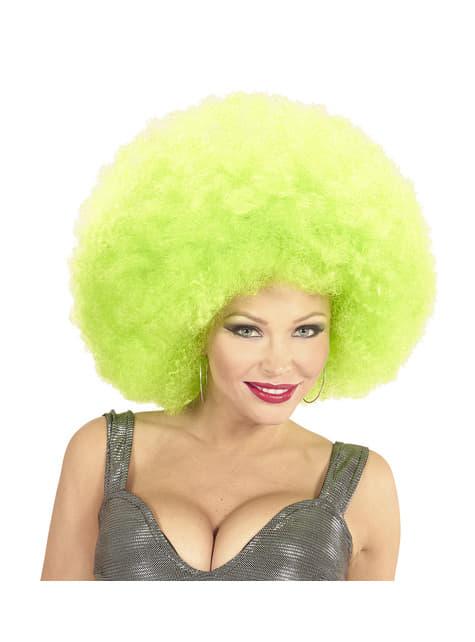 Deluxe Γιγαντιαία πράσινη περούκα Afro