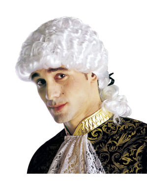 Mens Marquess Венецианска перука