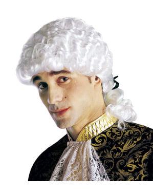 Miesten Venetsialaismarkiisin peruukki