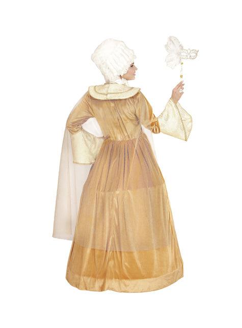 Disfraz de marquesa veneciana para mujer talla grande - mujer