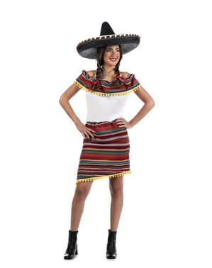 Déguisement mexicain avec style femme