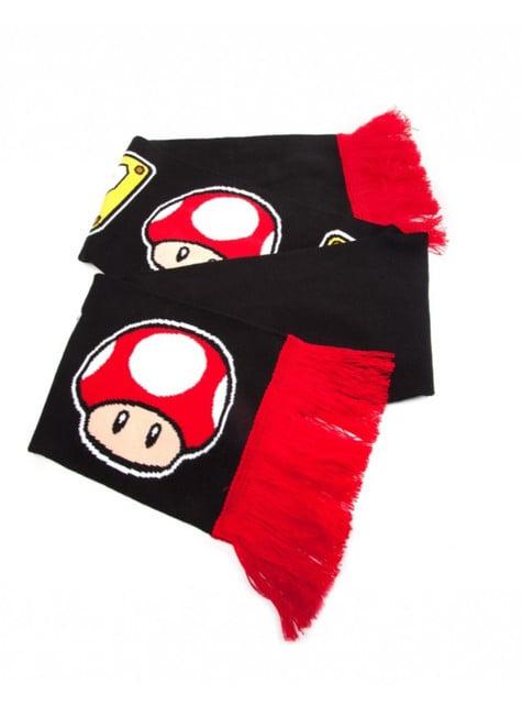 Bufanda de Mario Bros
