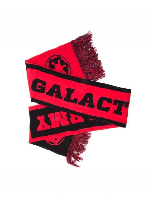 Red Galactic Empire scarf