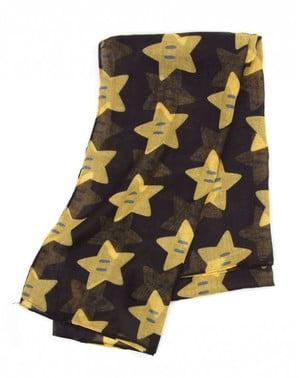 Mario Bros stjerne lommetørklæde til kvinder